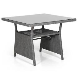 """Стол """"Soho grey"""", 86х86 см, стекло"""