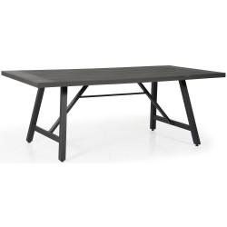 Стол Calais anthracite/grey, 200х100 см
