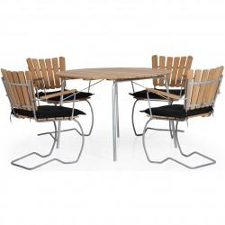 Комплект мебели из тика 56:AN natural