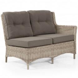 "Угловой диван ""Pago"" beige, левая боковая кушетка"