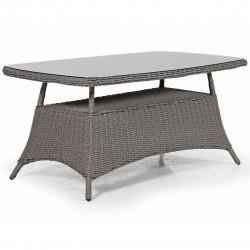 """Плетеный стол """"Pompano"""" beige 153х88"""