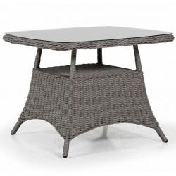 """Плетеный стол """"Pompano"""" beige 93х93"""