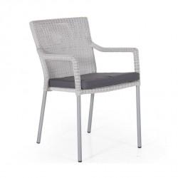 """Плетеное кресло """"Rozewille"""" white"""