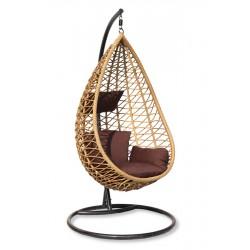 Подвесное плетеное кресло AURA