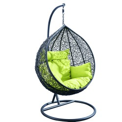 """Плетеное подвесное кресло """"BAZU"""""""