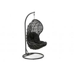"""Плетеное подвесное кресло """"CAND"""" black"""