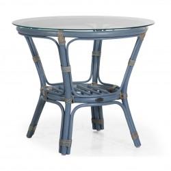 Журнальный столик Kubor blue, 60 см