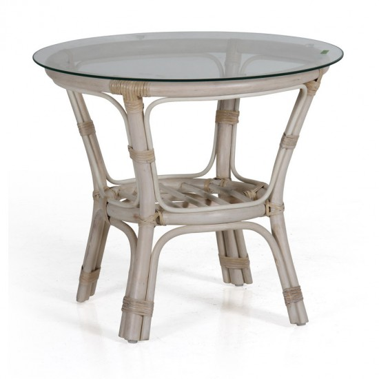 Журнальный столик Kubor white, 60 см