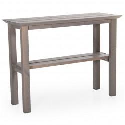 """Стол из сосны """"Birka"""" grey, приставной"""