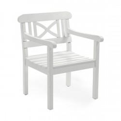 """Кресло из сосны """"Grundsund"""" white"""