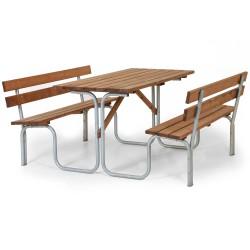 Комплект мебели Picnic brown из сосны