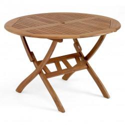 "Круглый стол из акации ""Everton"" 110 см"