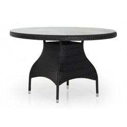 """Обеденный стол """"Ninja"""" black Ø120см"""