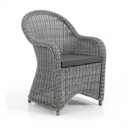 """Плетеное кресло """"Paulina"""" grey"""