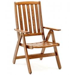 """Кресло из сосны """"Siljan"""", раскладное"""