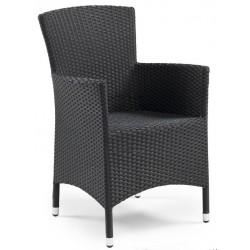 """Плетеное кресло """"Atlanta"""" black"""