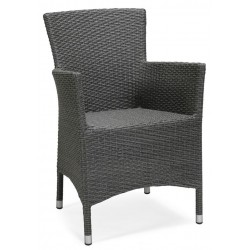 """Плетеное кресло """"Atlanta"""" grey"""