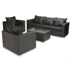 """Плетеная мебель """"Viper"""" black"""