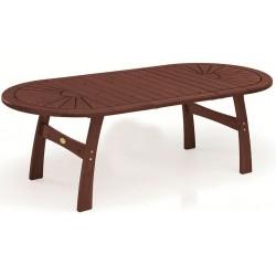 """Стол """"Embla"""" red wood из сосны 170/230/290x110x72 см"""
