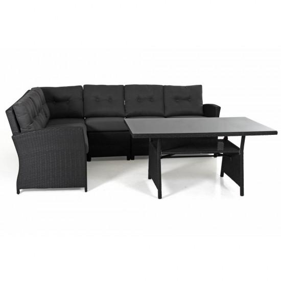"""Мебель из ротанга """"Soho"""" black"""