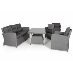 """Комплект плетеной мебели """"Soho grey"""""""