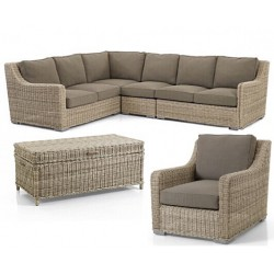 """Плетеная мебель """"Vallejo & Pasadena"""", лаунж зона"""