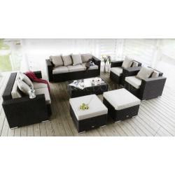 Плетеная мебель «Adagio» maxi