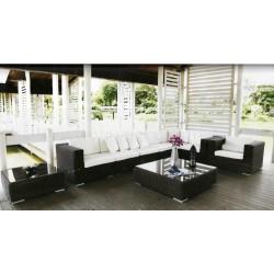 "Плетеная мебель ""Orient Lounge"" с угловым диваном"