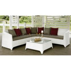 "Комплект плетеной мебели ""Orient white"""