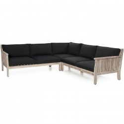 "Комплект мебели из акации ""Dallas White"""