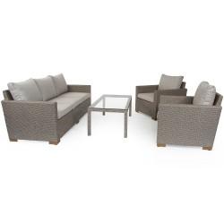 "Плетеная мебель ""Canby set"" beige"