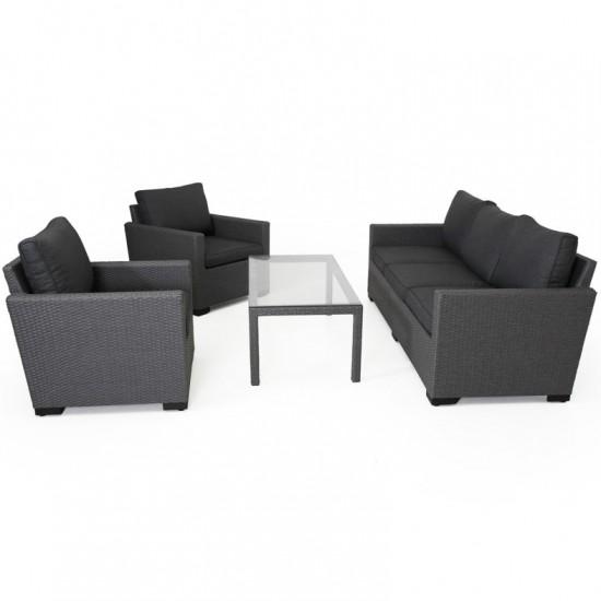 """Плетеная мебель """"Canby set"""" grey"""