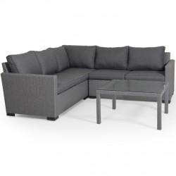 """Плетеная мебель """"Canby set corner"""" grey"""