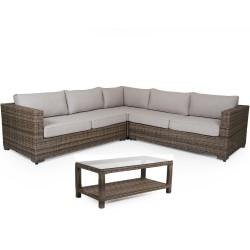 "Комплект плетеной мебели ""Ninja rustic (brown)"""