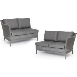 """Две боковые кушетки """"Somerset"""" grey для углового дивана"""