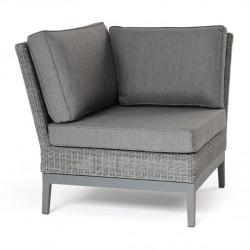 """Угловая секция дивана из ротанга """"Somerset"""" grey"""