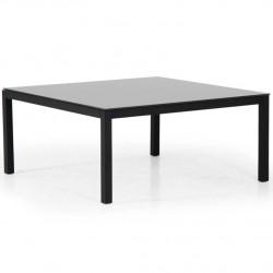 "Стол из алюминия ""Belfort"" black 100х100"