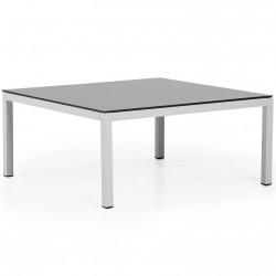 "Стол из алюминия ""Belfort"" white 100х100"