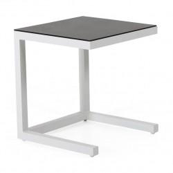 """Стол приставной """"Atom"""" 45х45 из алюминия"""