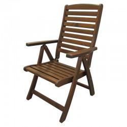 """Кресло из сосны """"Solberga"""" капучино"""