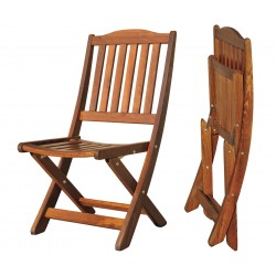 """Кресло из сосны """"Lotos"""" cognac"""