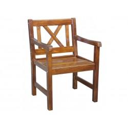 """Кресло из сосны """"Linda"""" cognac"""