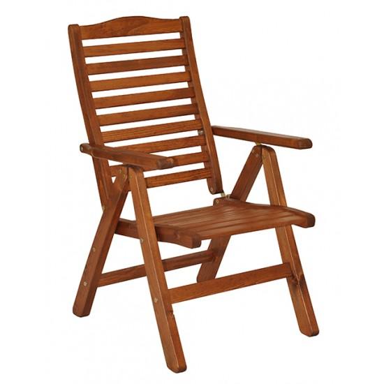 """Кресло """"Atol"""" из сосны."""