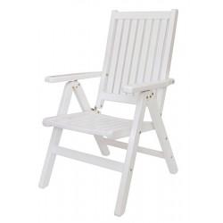 """Кресло из сосны """"Fronto"""" white"""
