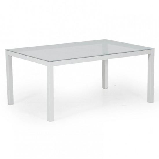 """Стол """"Leone"""" 120х70 из алюминия"""