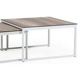 "Стол ""Talance"" white 80х80 из алюминия"