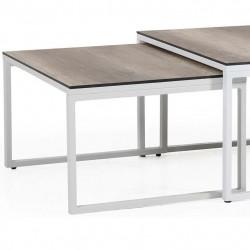 "Стол ""Talance"" white 74х60 из алюминия"