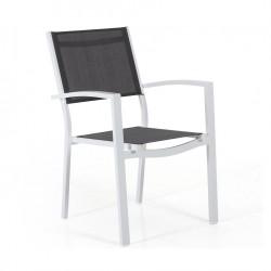 """Кресло """"Leone"""" из алюминия и тестилена"""
