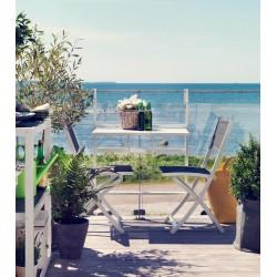 """Комплект мебели """"Leone""""для балкона из алюминия"""