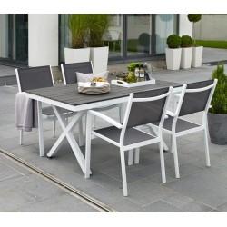 """Комплект мебели """"Leone"""" из алюминия (с прямоугольным столом)"""